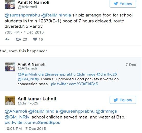 Indian railways on twitter | Indian Railway News